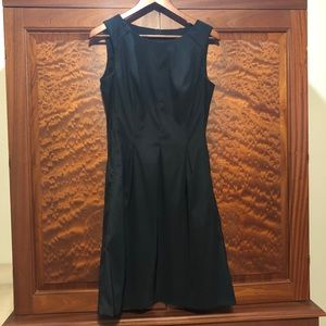 AGB Black pleated dress size 6